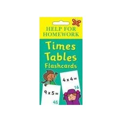 Help for Homework - Times Tables Flash card
