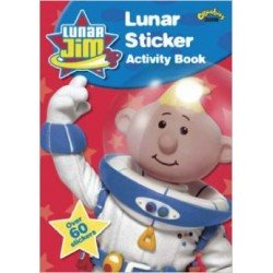 Lunar Jim Sticker Activity Book