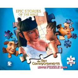 The Ten Commandments - Movie Puzzle book
