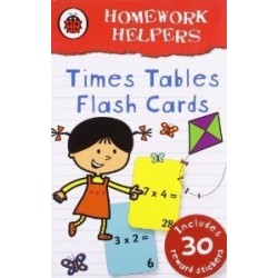 Homework Helpers: Times Tables Flash Cards