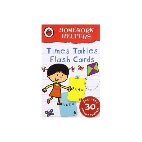 Homework Helpers Times Tables Flash Cards