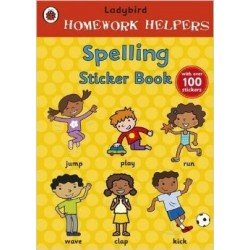 Homework Helpers: Spelling Sticker Book