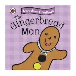 Touch and Feel Book Gingerbread man