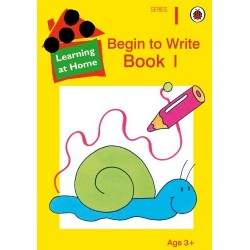 Learning at Home - Begin to Write Book 1