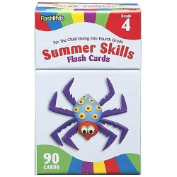 Summer Skills Flash Cards (Kindergarten)