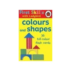 First Skills with Ladybird - Colours and Shapes Flashcards