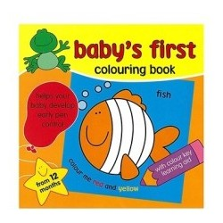 Baby's First Colouring Book