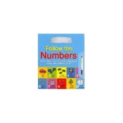 Follow The Numbers (Wipe and Clean Book)